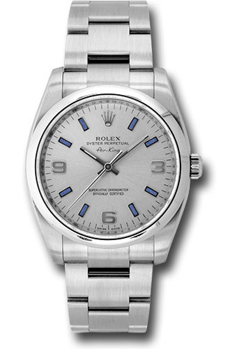 Rolex Watches - Air-King Domed Bezel - Style No: 114200 sblio