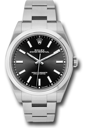 Rolex Watches - Oyster Perpetual No-Date 39mm - Domed Bezel - Style No: 114300 bkio