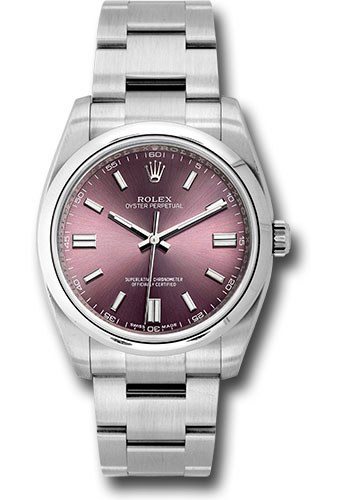 Rolex Watches - Oyster Perpetual No-Date 36mm - Domed Bezel - Style No: 116000 rgio