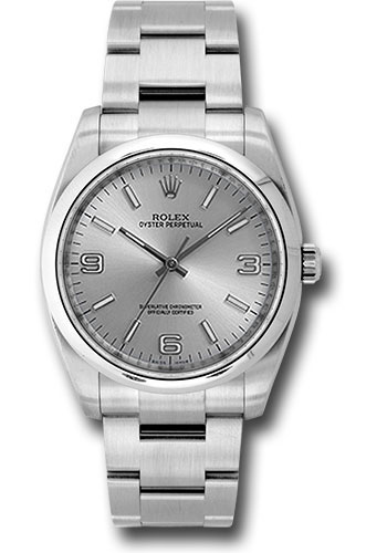 Rolex Watches - Oyster Perpetual No-Date 36mm - Domed Bezel - Style No: 116000 saio