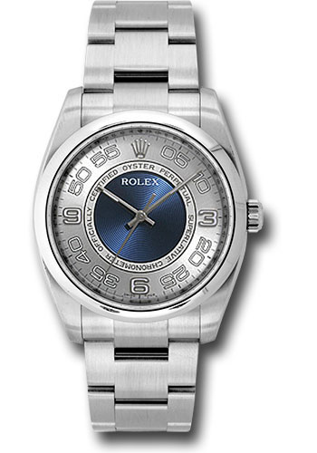 Rolex Watches - Oyster Perpetual No-Date 36mm - Domed Bezel - Style No: 116000 sblao