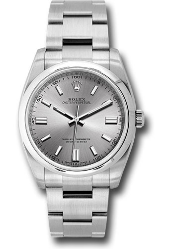 Rolex Watches - Oyster Perpetual No-Date 36mm - Domed Bezel - Style No: 116000 stio