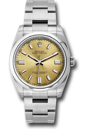 Rolex Watches - Oyster Perpetual No-Date 36mm - Domed Bezel - Style No: 116000 wgio