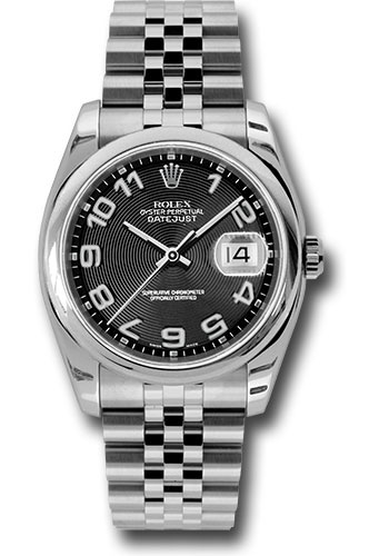 Rolex Watches - Datejust 36 Steel - Domed Bezel - Jubilee - Style No: 116200 bkcaj