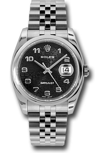 Rolex Watches - Datejust 36mm - Steel Domed Bezel - Jubilee Bracelet - Style No: 116200 bkjaj