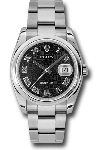 Rolex Watches - Datejust 36 Steel - Domed Bezel - Oyster - Style No: 116200 bkjro