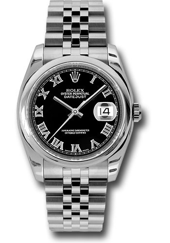 Rolex Watches - Datejust 36 Steel - Domed Bezel - Jubilee - Style No: 116200 bkrj