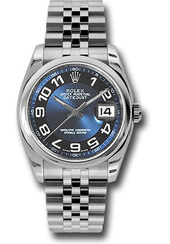 Rolex Watches - Datejust 36mm - Steel Domed Bezel - Jubilee Bracelet - Style No: 116200 blbkaj