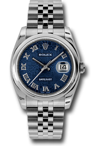 Rolex Watches - Datejust 36mm - Steel Domed Bezel - Jubilee Bracelet - Style No: 116200 bljrj