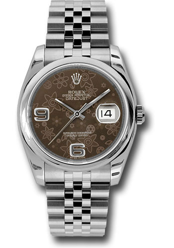 Rolex Watches - Datejust 36mm - Steel Domed Bezel - Jubilee Bracelet - Style No: 116200 brfaj
