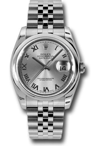 Rolex Watches - Datejust 36mm - Steel Domed Bezel - Jubilee Bracelet - Style No: 116200 rrj