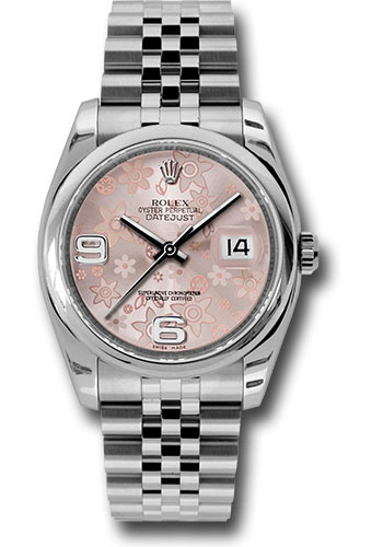 Rolex Watches - Datejust 36 Steel - Domed Bezel - Jubilee - Style No: 116200 pfaj