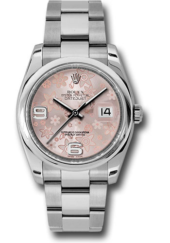 Rolex Watches - Datejust 36 Steel - Domed Bezel - Oyster - Style No: 116200 pfao