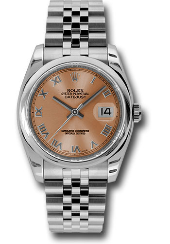 Rolex Watches - Datejust 36 Steel - Domed Bezel - Jubilee - Style No: 116200 prj