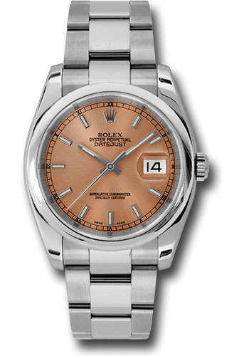 Rolex Watches - Datejust 36mm - Steel Domed Bezel - Oyster Bracelet - Style No: 116200 pso