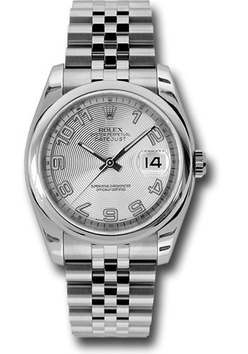 Rolex Watches - Datejust 36mm - Steel Domed Bezel - Jubilee Bracelet - Style No: 116200 scaj