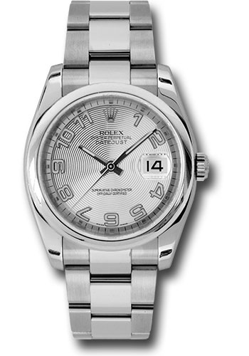 Rolex Watches - Datejust 36 Steel - Domed Bezel - Oyster - Style No: 116200 scao