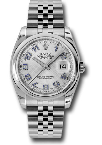 Rolex Watches - Datejust 36mm - Steel Domed Bezel - Jubilee Bracelet - Style No: 116200 sdblaj