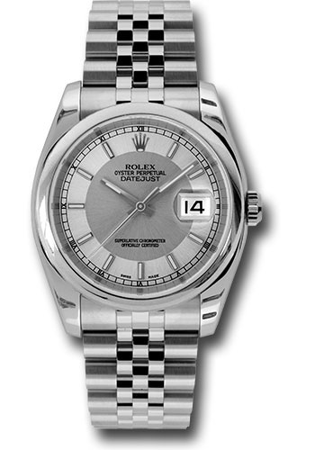 Rolex Watches - Datejust 36mm - Steel Domed Bezel - Jubilee Bracelet - Style No: 116200 stsisj
