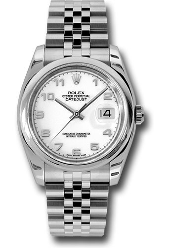 Rolex Watches - Datejust 36mm - Steel Domed Bezel - Jubilee Bracelet - Style No: 116200 waj