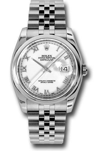 Rolex Watches - Datejust 36mm - Steel Domed Bezel - Jubilee Bracelet - Style No: 116200 wrj