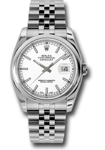 Rolex Watches - Datejust 36mm - Steel Domed Bezel - Jubilee Bracelet - Style No: 116200 wsj