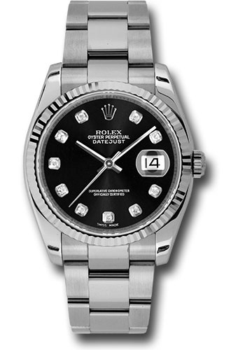 de47e4631b3db Rolex Style No  116234 bkdo. Rolex Oyster Perpetual Datejust Watches 36mm  ...