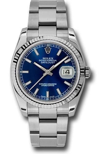 Rolex Datejust 36 Blue Dial