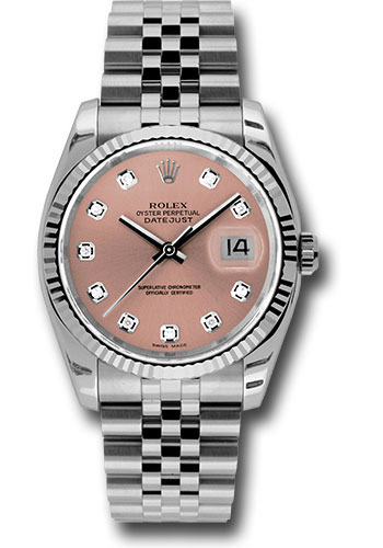 Rolex Watches - Datejust 36mm - Steel Fluted Bezel - Jublilee Bracelet - Style No: 116234 pdj