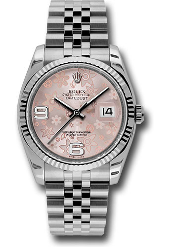Rolex Watches - Datejust 36mm - Steel Fluted Bezel - Jublilee Bracelet - Style No: 116234 pfaj