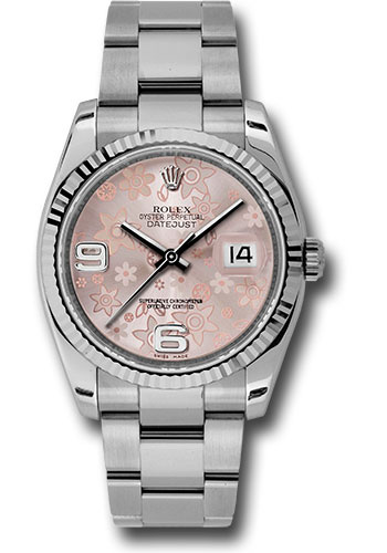 Rolex Watches - Datejust 36mm - Steel Fluted Bezel - Oyster Bracelet - Style No: 116234 pfao