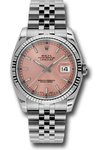 Rolex Watches - Datejust 36mm - Steel Fluted Bezel - Jublilee Bracelet - Style No: 116234 pij