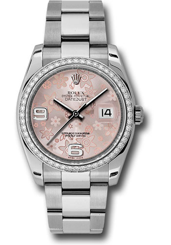 Rolex Watches - Datejust 36mm - Steel White Gold Dia Bezel - Oyster - Style No: 116244 pfao