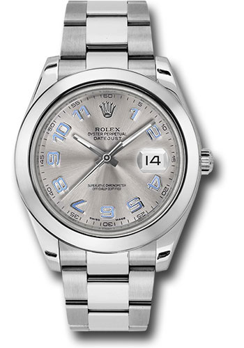 Rolex Watches - Datejust II 41mm Stainless Steel - Smooth Bezel - Oyster - Style No: 116300 gao