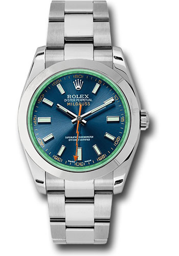 Rolex Watches - Milgauss - Style No: 116400GV blo