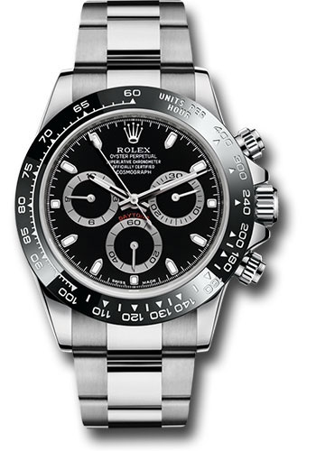 Rolex Watches - Daytona Stainless Steel - Bracelet - Style No: 116500LN bk