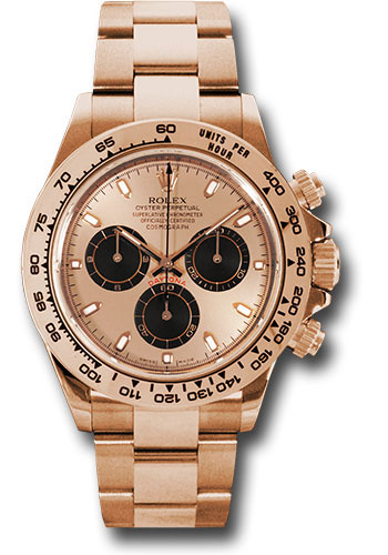 Rolex Watches - Daytona Everose Gold - Bracelet - Style No: 116505 pbk
