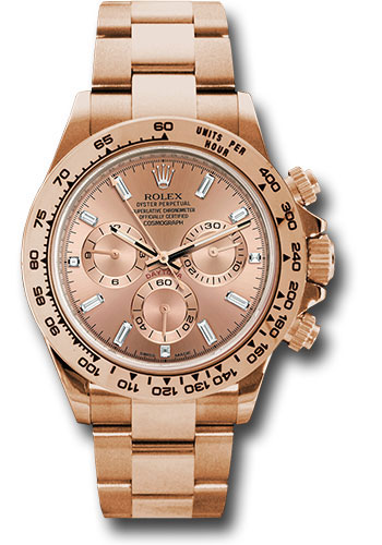 Rolex Watches - Daytona Everose Gold - Bracelet - Style No: 116505 pbd