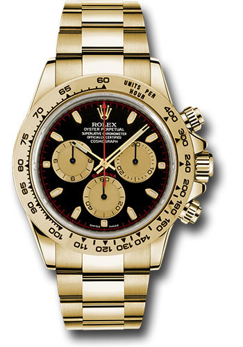 Rolex Daytona Yellow Gold Bracelet Watches From Swissluxury