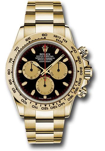 da748bdd392 Rolex Style No  116508 bkchi. Rolex Oyster Perpetual Cosmograph Daytona  Watch 40mm 18K yellow gold ...