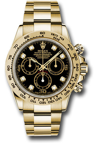 Rolex Watches - Daytona Yellow Gold - Bracelet - Style No: 116508 bkd