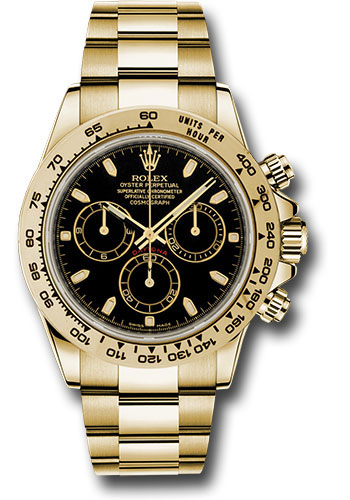 Rolex Watches - Daytona Yellow Gold - Bracelet - Style No: 116508 bki