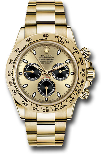 Rolex Watches - Daytona Yellow Gold - Bracelet - Style No: 116508 chbki