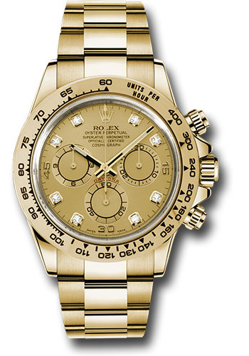 Rolex Watches - Daytona Yellow Gold - Bracelet - Style No: 116508 chd
