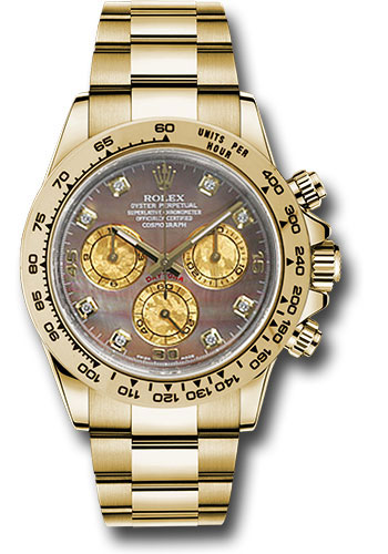 Rolex Watches - Daytona Yellow Gold - Bracelet - Style No: 116508 dkmd