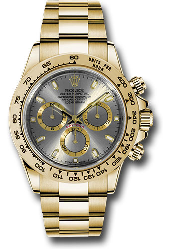 Rolex Watches - Daytona Yellow Gold - Bracelet - Style No: 116508 sti