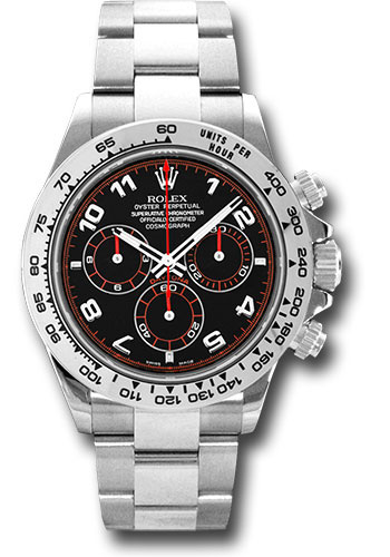 Rolex Daytona White Gold Bracelet Watches From Swissluxury