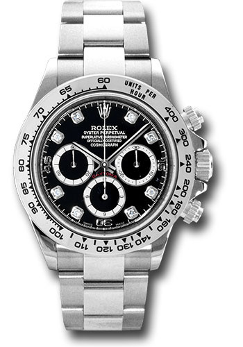 Rolex Watches - Daytona White Gold - Bracelet - Style No: 116509 bkd