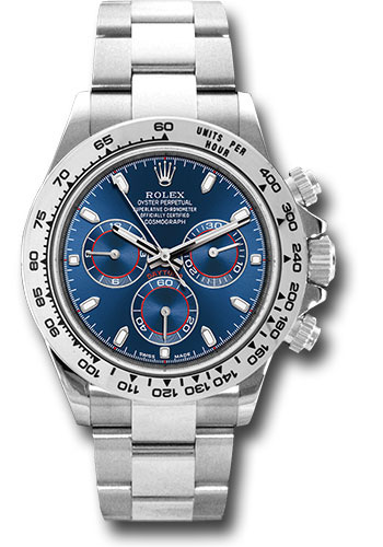 Rolex Watches - Daytona White Gold - Bracelet - Style No: 116509 bli