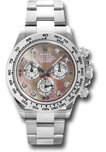 Rolex Watches - Daytona White Gold - Bracelet - Style No: 116509 dkltmd